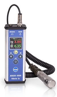 A4900ex intrinsically safe vibration meter
