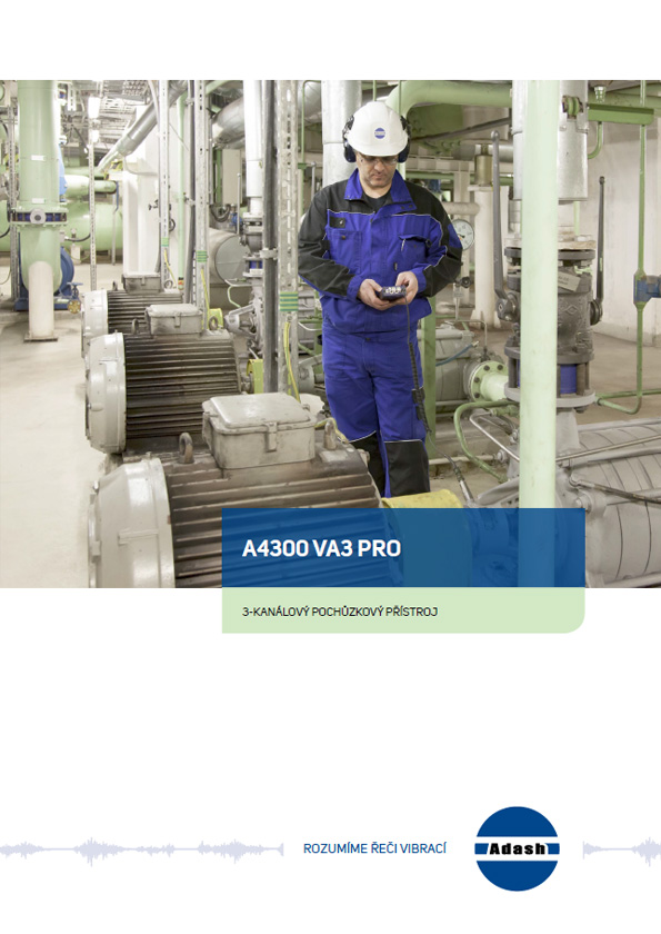 Data sheet vibration analyzer a4300 VA3 Pro