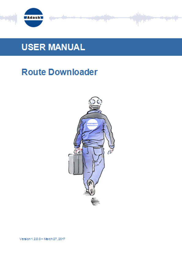 Manual Route downloader software