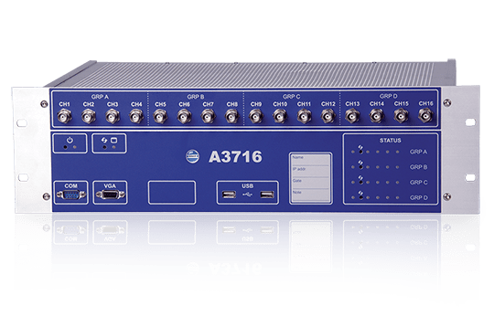 A3716 16-channel online monitoring system