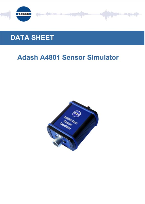 Manual Sensor simulator Adash