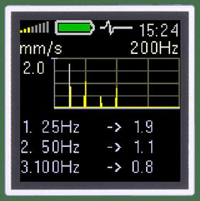 A4900 Vibrio FFT Spectrum