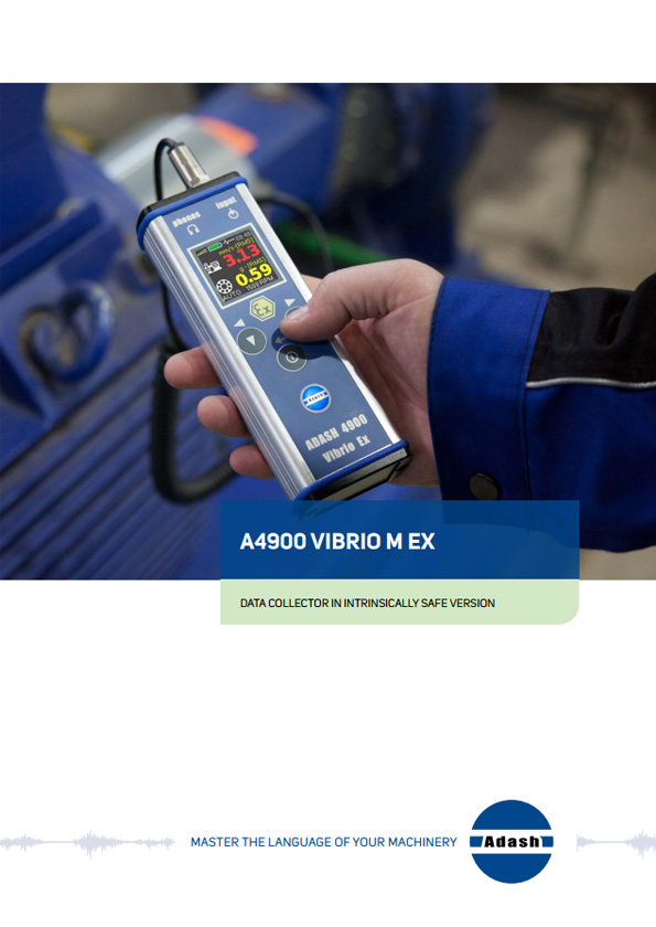 Data sheet vibration meter a4900 Vibrio M Ex