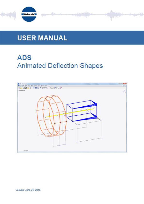 Manual Operating Deflection shapes software
