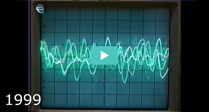 Vibration Analysis. ADASH historical video from the past millennium - PART 1